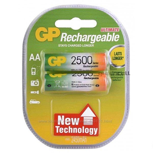 Аккумулятор Gp Rechargeable R6 1300 1800 2500 2700 Mah батарейки ААА АА