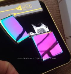 Электро зажигалка USB запальничка тесла K01