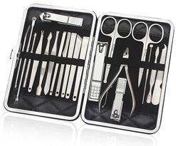 Набор инструментов для маникюра педикюра 20 шт Маникюрный набор Маникюрница