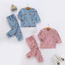 Пижамы кексы и коровки