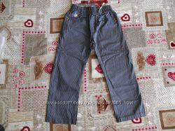 Котоновые облегченные брюки для мальчиков  98 р 3 года