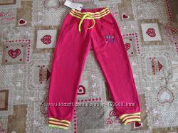 Спортивные утепленные на флисе  штаны для девочек Венгрия 3-6 лет
