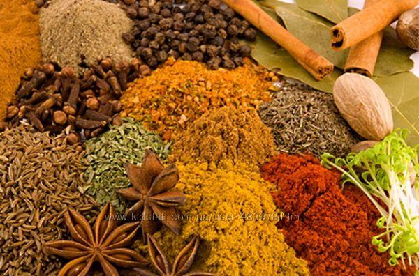 СП специи, смеси, сушеные травы и овощи