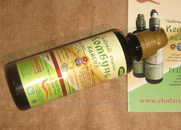 Комбуча - чайный уксус для здорового питания и косметологии