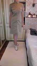 Calvin klein платье рубашка в стиле сафари