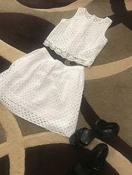 Летний комплект юбка и топ