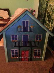 Кукольный игровой домик. Авторская ручная работа. Отличный подарок девочке