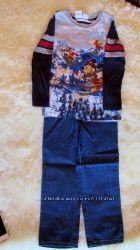 disney комплект джинсы раз-5лет