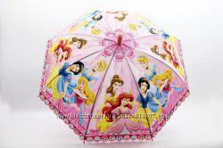 Шикарные зонтики для девочек  Холодное сердце, принцессы, человек паук.