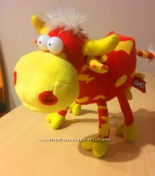 Мягкая игрушка забавная коровка Fancy