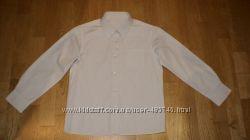 Рубашка школьная Marks&Spencer для девочки 7-8 лет в отличном состоянии
