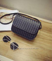 Стильная Fashion сумка-клатч с плетением