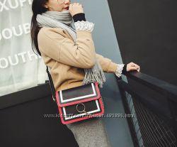Fashion сумка клатч с кольцом и цепочкой