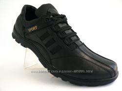 Кроссовки мужские кожаные