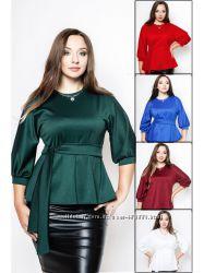 Трикотажные блузки Янтарь