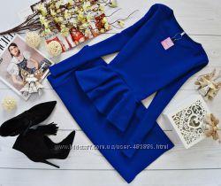 Костюм кофта-баска и юбка-карандаш код 116