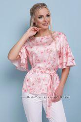 Блуза Мирабель цветы