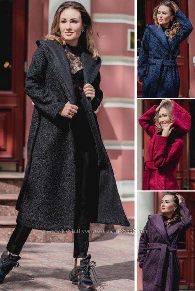 Пальто букле Мариз