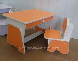 Столик и стульчик с регулировкой высоты. Николаев
