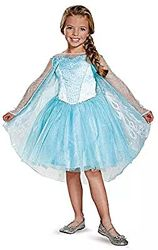 Платье Эльзы из Фрозен Дисней на рост 115-125 и 125-135 см, оригинал