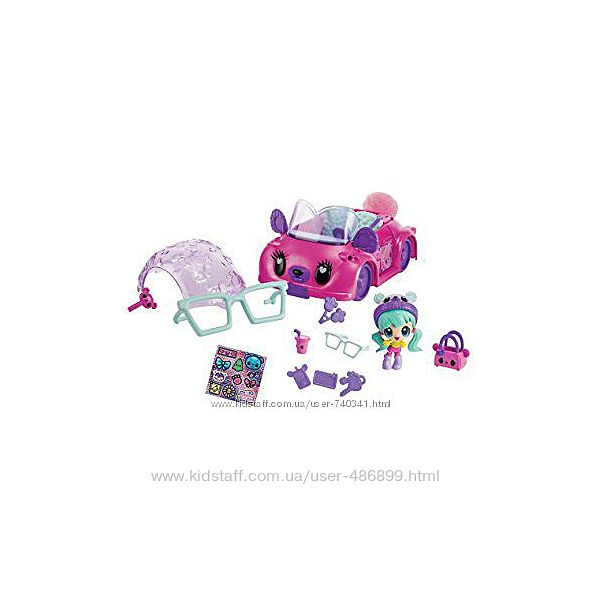 Куколка Каваи Краш с автомобилем Kawaii Crush, оригинал Spin Master
