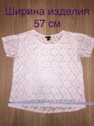Кружевная футболкa HM
