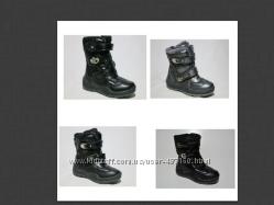 Распродажа зимние сапожки - дутики 4 модели р. 27-28