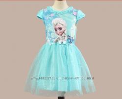 В наличии Нарядное платье Эльзы на 2, 3, 4, 5, 6, 7лет