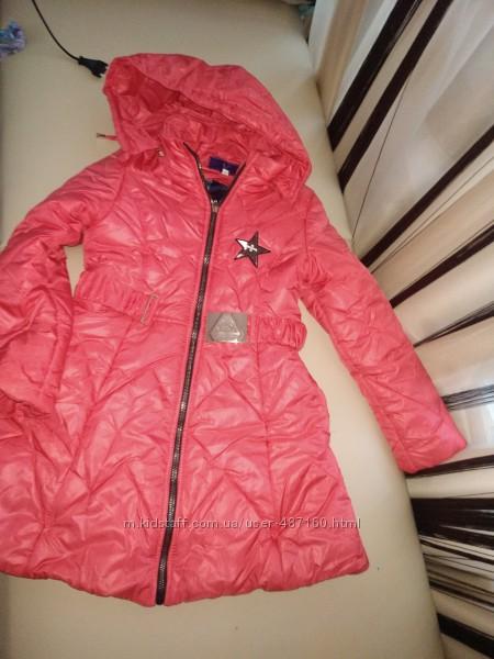 куртка демисезонная девочке на 6-7 лет