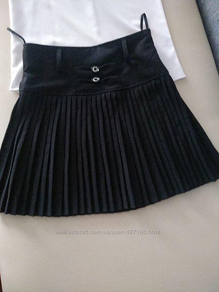 Школьная юбка новая р.128-136