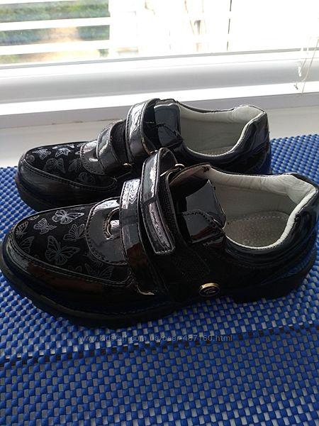 туфли девочке в школу