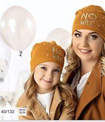 Яркие, красивые шапочки, комплекты АJS- Польша 2020