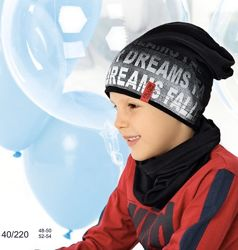 Шикарные шапки, комплекты для мальчиков  Польша в Наличии