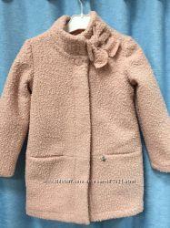 Красивое, стильное пальто для девочек. Фабричная Польша от 122 до 152р