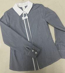 Шикарного качества рубашки для девочек в школу. В наличии Польша