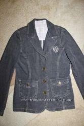 Очень модный пиджак LOGG на девочку, можно в школу, длина 55см