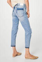 Укороченные MOM джинсы Mango оригинал размеры 34 и 40