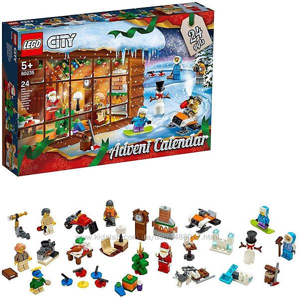 Lego City 60235 Новогодний адвент календарь лего сити 2020. В наличии