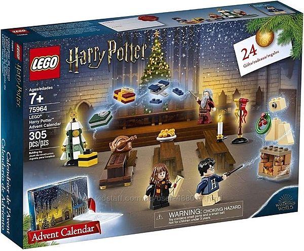 Лего 75964 Гарри Поттер Рождественський календарь Lego Harry Potter