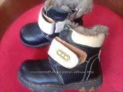 Зимние на цигейке ботиночки МХМ