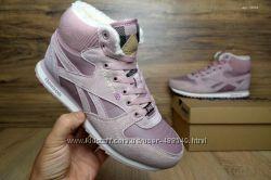Зимние кроссовки Reebok pink