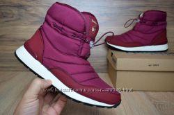 Зимние женские ботинки Reebok burgundy