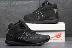 Зимние кроссовки высокие New Balance 696 Revlite black