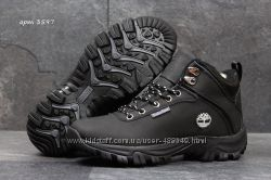 Зимние ботинки Timberland black 36-41р