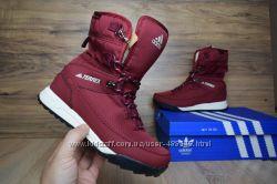 Ботинки зимние Adidas Terrex 2 burgundy