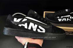 Мужские кеды Vans black, ТОП качество