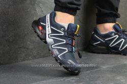Кроссовки мужские Salomon Speedcross 3 dark blue 12c1a344412e1