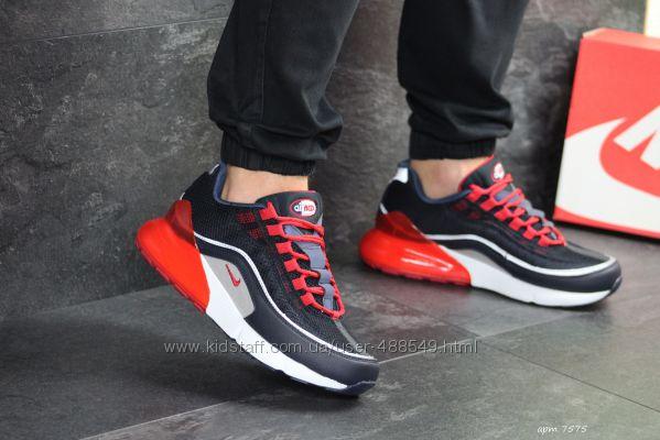 Кроссовки мужские Nike Air Max 270 sneakers dark bluered