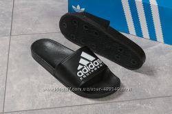 Шлепанцы мужские Adidas черные