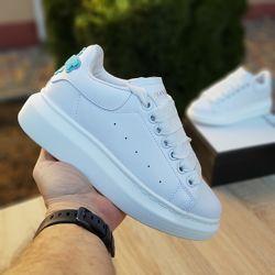 Кроссовки женские Adidas х Alexander McQueen  белые